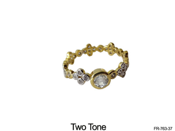 Multi Round Style AD Finger Rings