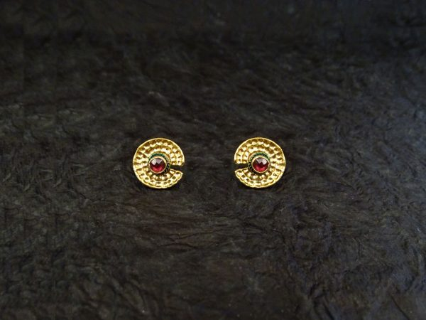 Round Style Antique Earrings