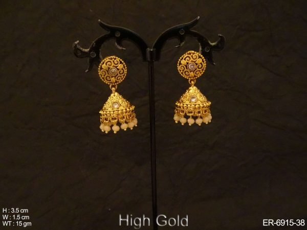 Jhumki Style Antique Earings