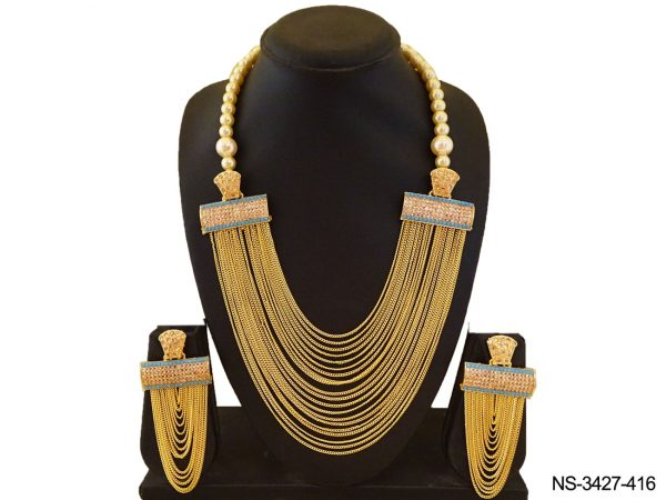Multi Chain Style Necklace SetS