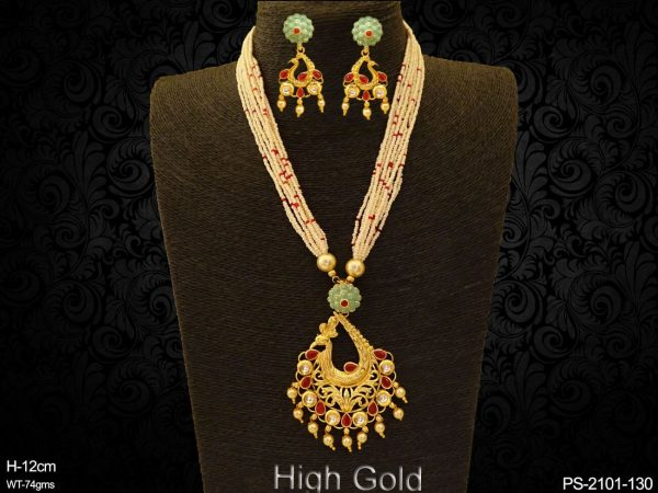 Paan Curved Style Antique Designer pendant