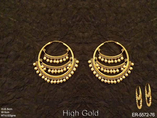 Multi Layered Bali Imitation Earrings