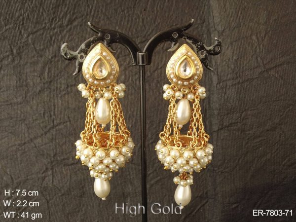 Different fancy design antique jhumka
