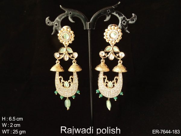 Full AD daimond heavy AD Earring