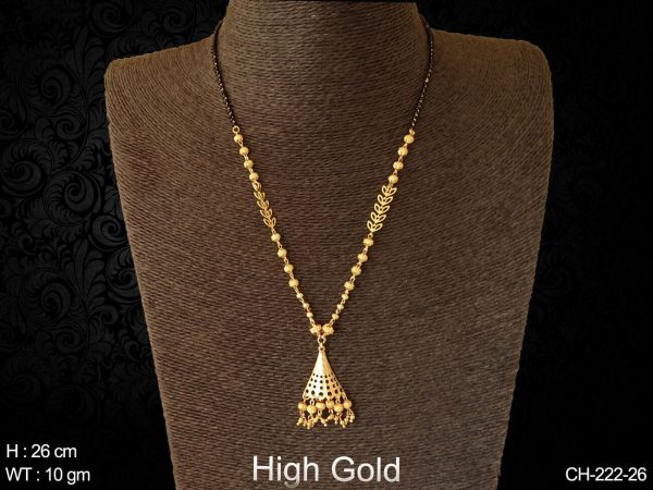 Latest Daily Wear Gold Mangalsutra Designs