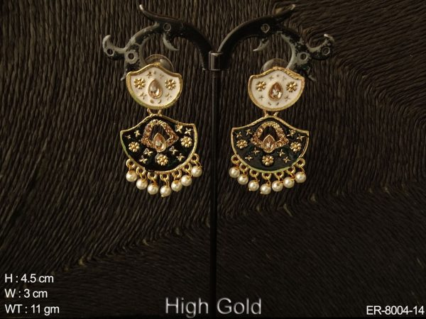 Fancy delicate small design antique earring