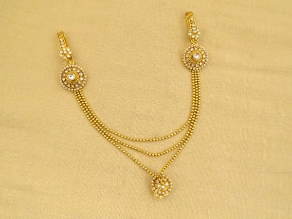 double broach sided antique juda