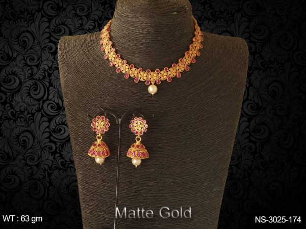 Flower Layered Antique Neckalces