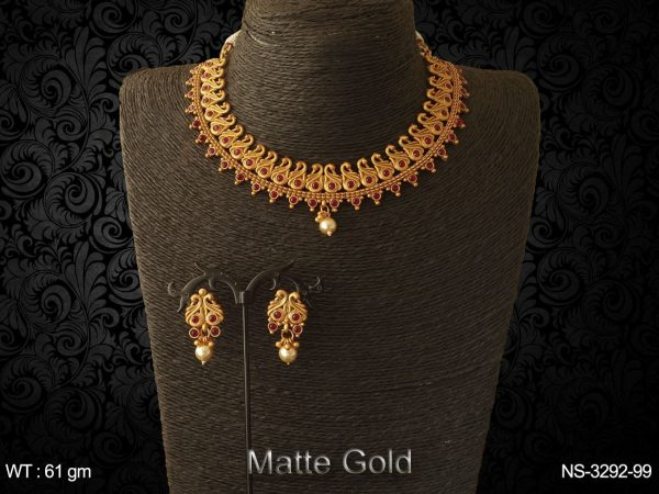 Multi Peacock Style Antique Necklaces