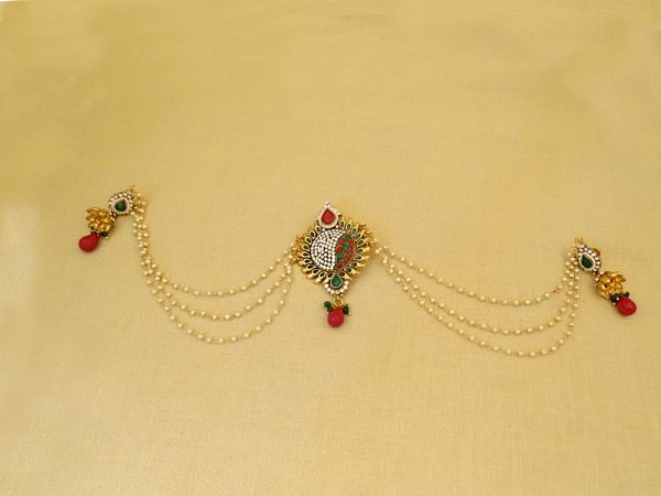Round Style Antique Hair Accessory