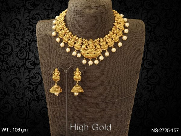 Multi Mukhi Laxmi Ji Necklace Sets