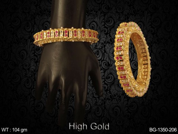 Parallel Style Antique Style Bangles